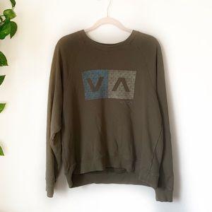 RVCA Crew Pullover Sweater